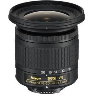 עדשה Nikon AF-P DX NIKKOR 10-20mm f/4.5-5.6G VR