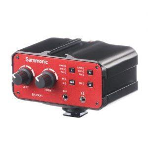 גריפ סאונד Saramonic SR-PAX1 Audio Adapter