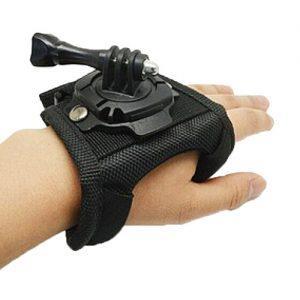 360 rotating glove mount - רצועת יד °360 חליפית למצלמות GoPro