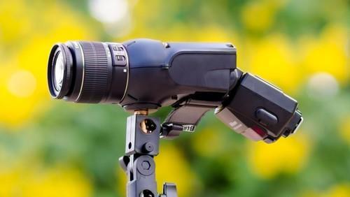 Light Blaster Strobe-based Image Projector