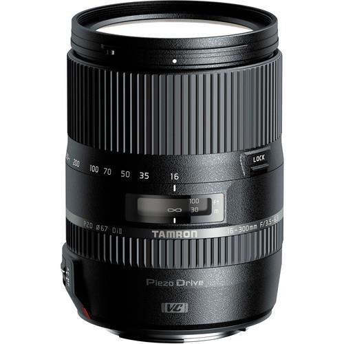 עדשה Tamron 16-300mm f/3.5-6.3 Di II VC PZD MACRO למצלמות Canon
